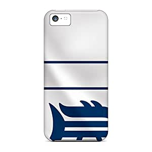 Scratch Protection Cell-phone Hard Covers For Iphone 5c (llR11812XJiE) Allow Personal Design Lifelike Detroit Tigers Skin
