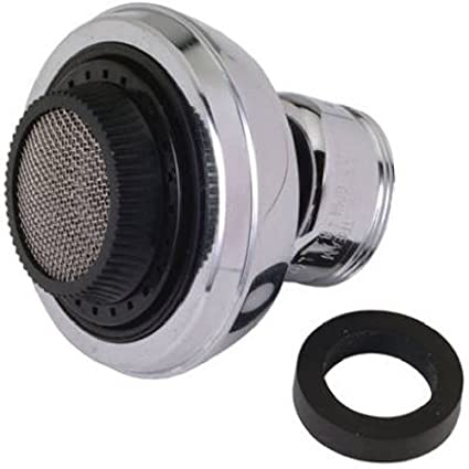 faucet aerator with on off switch. BrassCraft SF0077X Dual Thread Swivel Spray Faucet Aerator 360 Degree  With Pull Down Switch