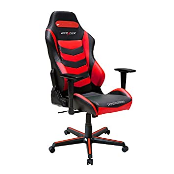 DXRacer Drifting Series DOH DM166 NR Office Chair Gaming Chair Ergonomic Computer Chair eSports Desk Chair Executive Seat Furniture With Pillows Black Red