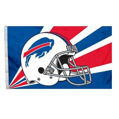 Fremont Die NFL Buffalo Bills 3-by-5 Foot Helmet ()