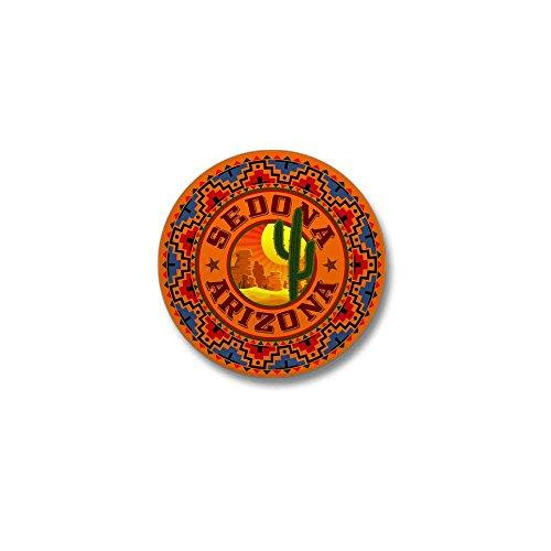 CafePress Sedona Desert Circle Mini Button 1