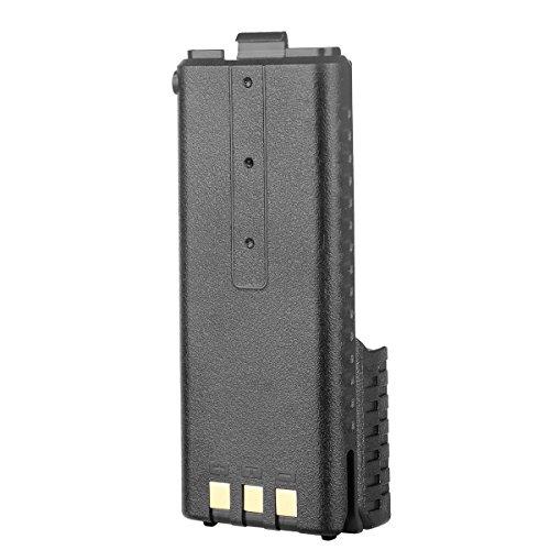 UV-5RTP 5RE BU NKTECH 3800mAh Extended Battery Fit BaoFeng UV-5R Plus BF-F9 V2