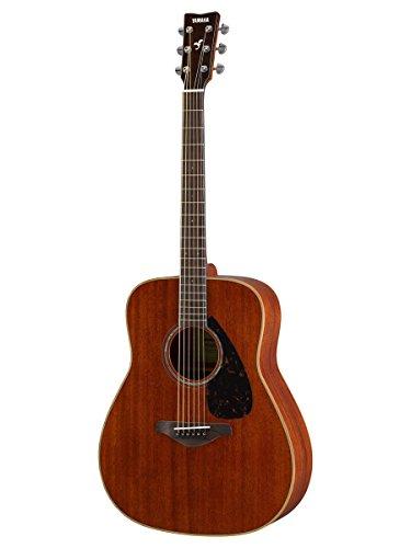 Yamaha FG850 Solid Top Acoustic Guitar, Mahogany