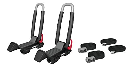 Yakima JayLow Folding J-Cradle Rooftop Kayak Rack with Tie-Downs Yakima Products 8004073