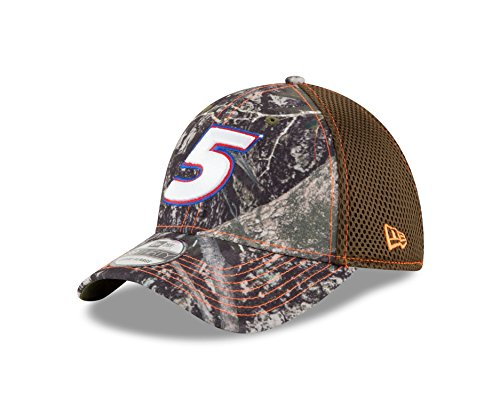 True Fit Camo (NASCAR Hendrick Motorsports Kasey Khane True Timber Neo 39Thirty Stretch Fit Cap, Medium/Large, Truetimber Camo)