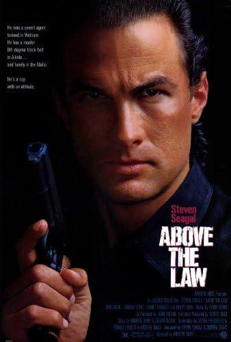 Pop Culture Graphics Póster de la película Above The Law, 69 ...