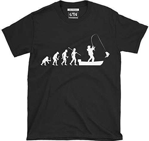 la Camiseta pesca Of en de Man para 6tn barco Evolution vvRq5wr