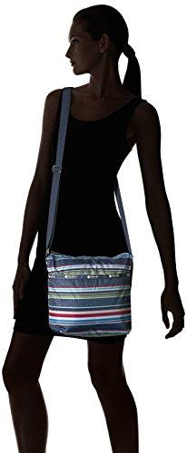 Classic Hobo LeSportsac Indigo Cleo Crossbody Stripe Small HwwxTO