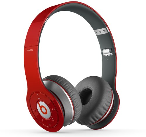 Beats Wireless Headphone Red Discontinued Manufacturer