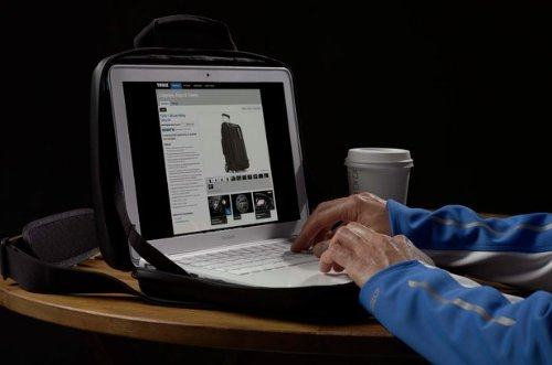 Thule Gauntlet TMPA-113 13 inch MacBook Pro and Retina Display Attache' (Black) by Thule (Image #9)
