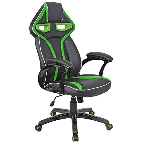 Racing Bucket Seat Office Chair High Back Gaming Chair Desk Task