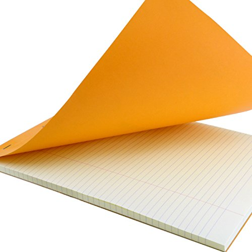 Rhodia Classic Orange Notepad 8.25X12.5 Lined 10Pk by Rhodia (Image #1)