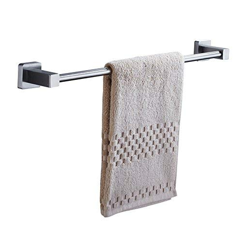 (24'' Single Towel Bar,304 Stainless Steel,Towel Rail Wall Hanging,Towel Holder for Bathroom Kitchen,Brushed Finish Storage Rack)