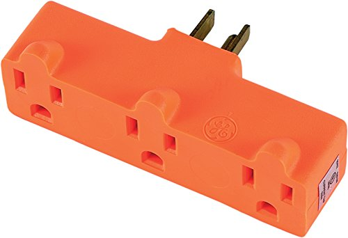GE 54541 3 Grounded Outlet Adapter