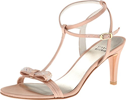 Stuart Weitzman Bridal & Evening Collection Women's Zesty Adobe Satin 8 M