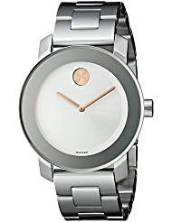Movado Womens 3600084 Bold Stainless Steel Bracelet Watch