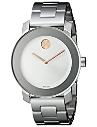 Movado Women's 3600084 Bold Stainless Steel Bracelet Watch