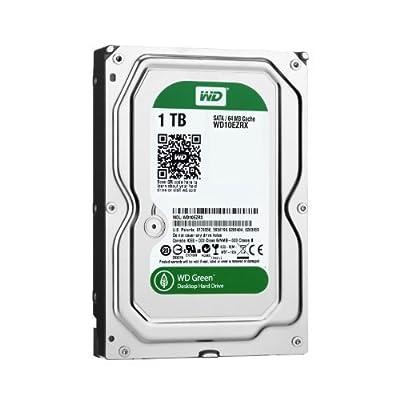 WD Green Desktop Hard Drive: 3.5 Inch, SATA III, 64 MB Cache - WD30EZRX (Certified Refurbished) from WESA9
