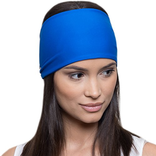 French Fitness Revolution Yoga Headbands for Women/Sweatband for Sports, Workout or Running, Insulates and Absorbs Sweat, Head Bands for Girls from