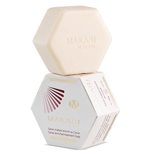 Makari Classic Caviar Enriched Treatment Soap 7.0 oz – Moisturizing & Brightening Bar Soap for Face & Body – Anti-Aging Cleanser Combats Dryness, Dullness, Wrinkles & - Rejuvenation Treatment Caviar