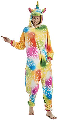 Unicorno Attrezzatura Cosplay Abyed® Kigurumi Pigiama Colorata Stella Anime Halloween Costume n6Fw0Rqw1