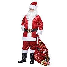 California Costumes Men's Classic Santa Suit Adult