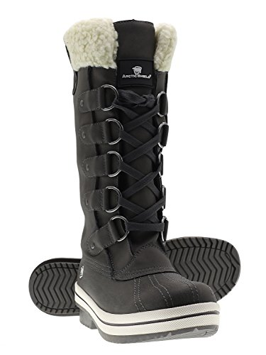 women insulated snow boots - 1