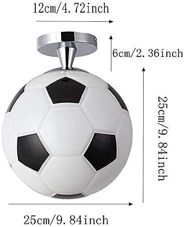 Mini Lámpara de Techo para Niños, Bola, un Solo Led, Esmerilado ...