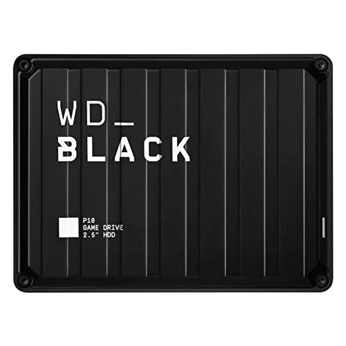 chollos oferta descuentos barato WD_BLACK 5TB P10 Game Drive for On The Go Access To Your Game Library Works with Console or PC