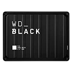 The WD Black P10 Game Drive gives your console or PC the performance-enhancing tools it needs to keep your competitive edge. It's a top-tier external HDD in available in capacities up to 5TB, built specifically for gamers looking to expand th...