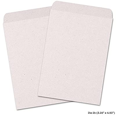 "50 Blank Seed Envelopes 3.25"" x 4.50"" (Self Sealing) ""Rose Quartz"""