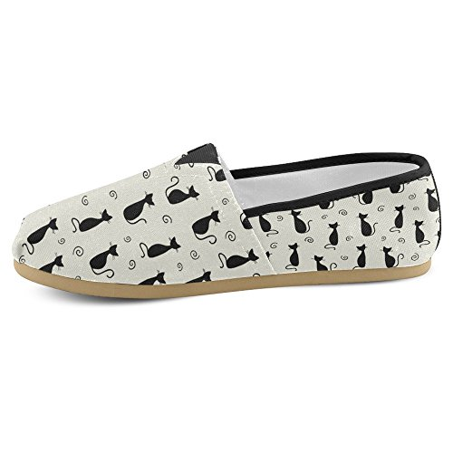 Loafers Multi Sneakers Womens Casual Shoes Fashion 11 On Slip Canvas Classic Flats InterestPrint PaqzP