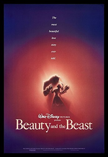 Prague ''Beauty And The Beast'' Silk Movie Poster 24X36 Inches 1991