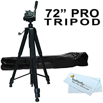 H303 H300 H304 Deluxe Pro 57 Camera Tripod with Tripod Carrying Case For The Samsung SMX-F54 F53 F50 H305 Camcorder