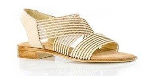 Sandalette Femme Pour Chillany Sable Sandales Beige 41nwwqZx