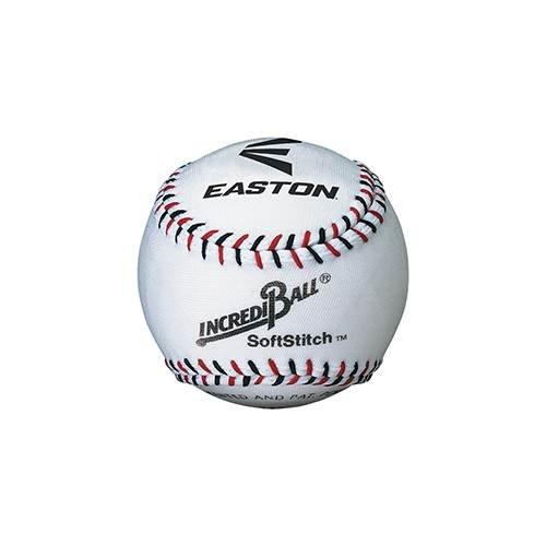 Easton Softstitch Incrediball Softball White, 9'' 9'' Sport Supply Group Inc. BBA1002X