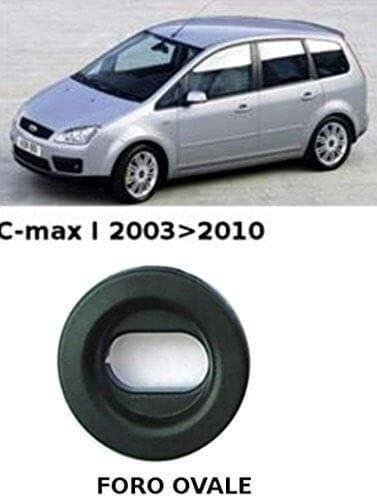 Ford C-Max I dal 2003-2010 con fissaggio foro ovale tappeti moquette antiscivolo