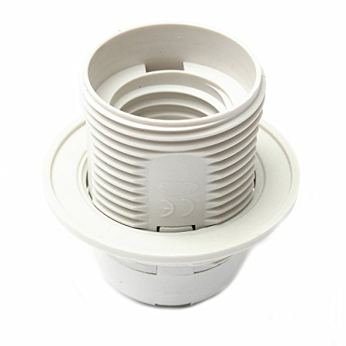 Lights & Lighting - Lamp Shade Ring Lampshade Collar - Edison Screw Es E27 M10 Light Bulb Lamp Holder Pendant Socket & Lampshade Collar - Heat Resistant Tote And Holder - (Ring Shade Pulls)