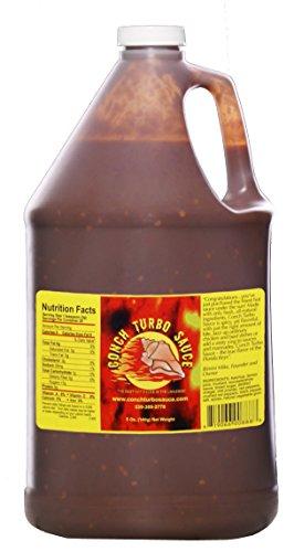 Conch Turbo Original Recipe Sauce - Gallon