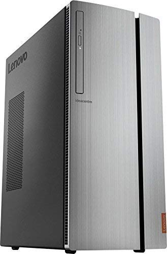 Lenovo 2018 IdeaCentre 720 Business Desktop Computer, AMD Quad Core Ryzen 5 1400 up to 3.4GHz, 8GB DDR4, 1TB 7200rpm HDD, DVDRW, AMD Radeon R5 340, 802.11ac WiFi, 7 in 1 Card Reader, HDMI, Windows 10