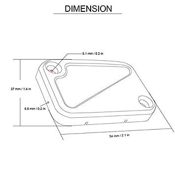 CNC Front Brake Clutch Fluid Reservoir Cap For KTM DUKE 200 390 690 990 2014-2015