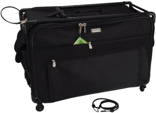 Tutto TUTTO Machine on Wheels Case- 1X -Black 23''L x 15''H x 14''D by Tutto