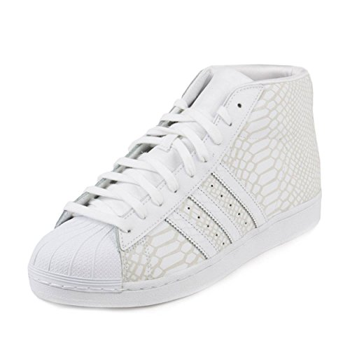 Team Shoes Model Pro - adidas Pro Model Men's Shoes White/White d69287 (10.5 D(M) US)