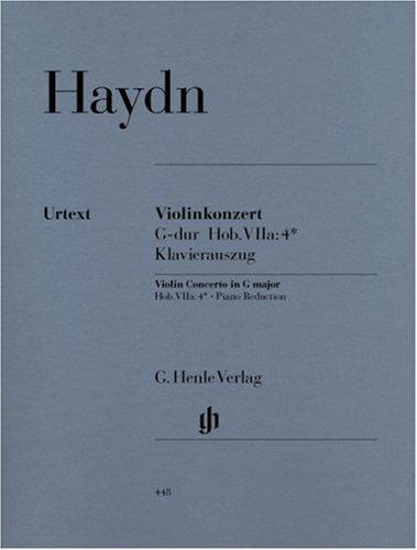 Haydn: Violin Concerto in G Major, Hob. VIIa:4