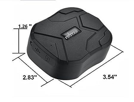 Mini GPS Tracker TK913:1500mA TKSTAR Mini Real Time GPS Tracker Portable GPS Tracking Anti Lost GPS Locator for Wallet Bag Kids School Bag Important Documents Car Lost Finder with App