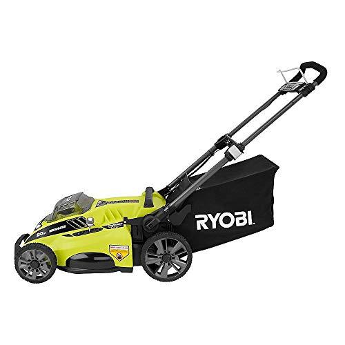 Ryobi RY40180 40V Brushless Lithium-Ion Cordless Electric Mower Kit, with 5.0Ah Battery, 19.88'' x 40.748'' x 22.677'' by Ryobi (Image #4)