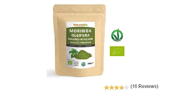 Moringa Oleifera Ecológica en Polvo [Calidad Premium] de 400g ...