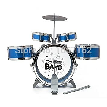 Amazon Com My First Band Baby Jazz Drum Set Musical Instruments