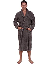 Mens Turkish Terry Cloth Robe, Thick Bathrobe
