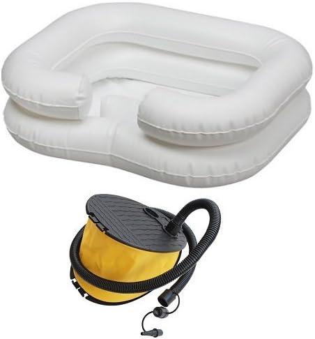 Amazon.com: comfort Aid Portable Cama hinchable Champú ...